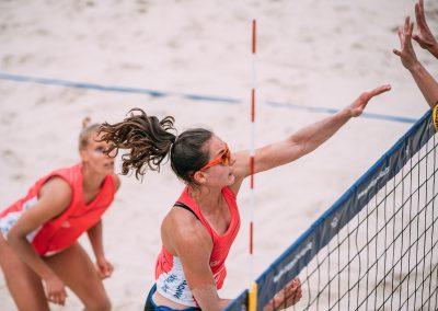 Die Beach Liga Angriff Anna Lena Grüne